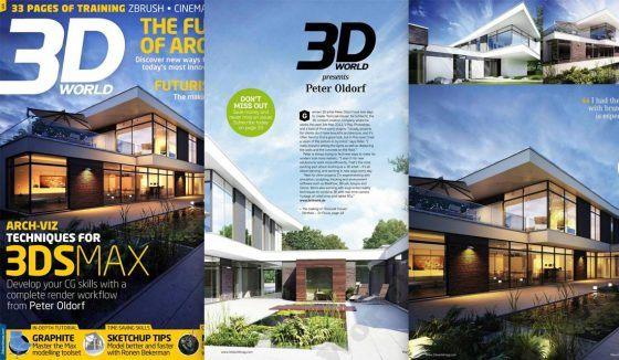 Architekturvisualisierung von lichtecht in der 3D World