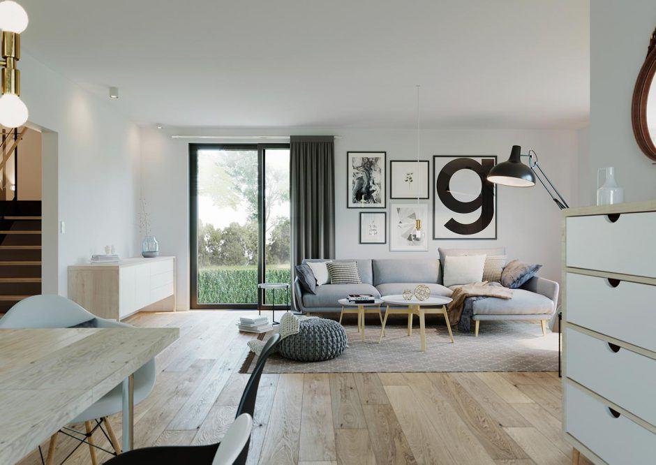 Nordic Living Wohnzimmer