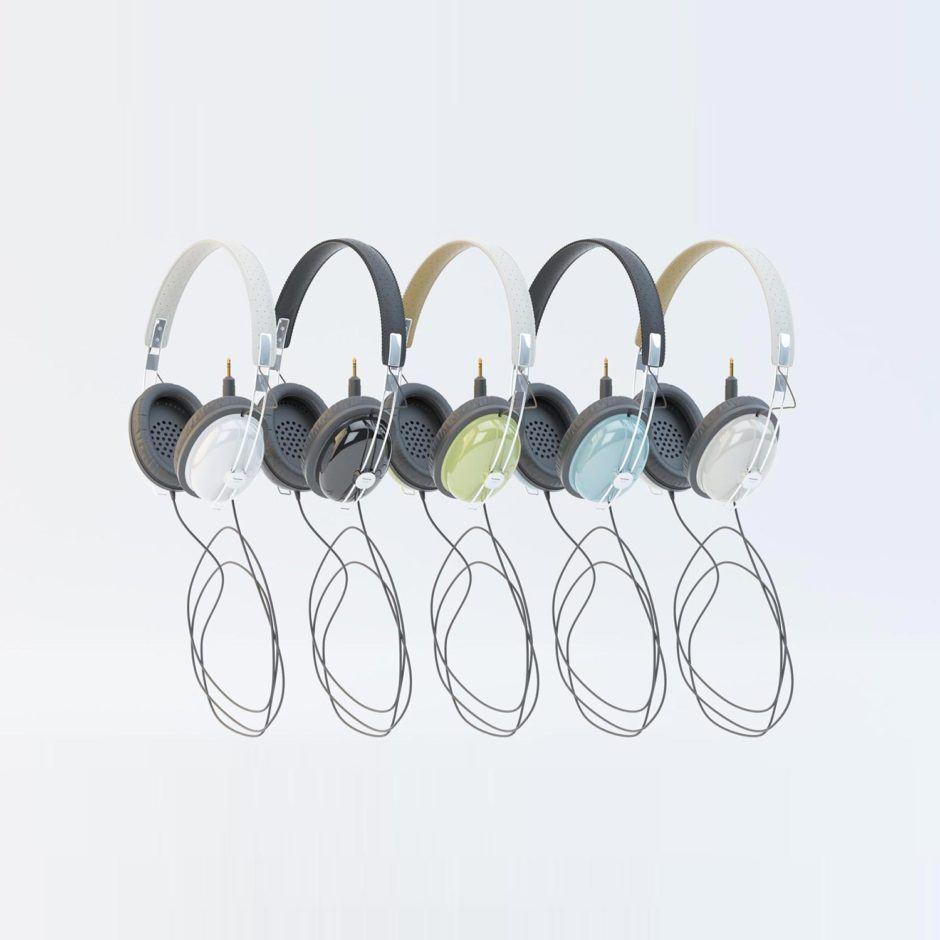 Panasonic RP-HTX7 Headphones Free 3D model