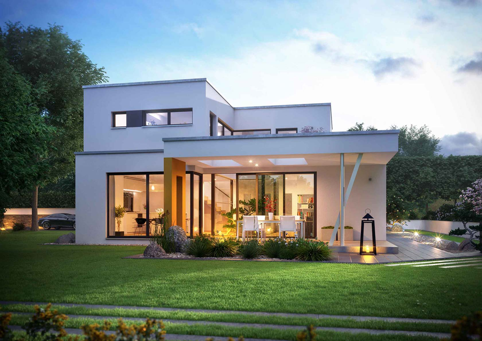 Dream house by lichtecht the site for the prefab and for Building our dream home blog