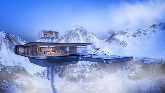 Das etwas andere 3D-Rendering Projekt - Oblivion Skytower