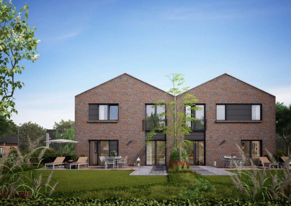 Viebrock Doppelhaus Verblender Sheffield