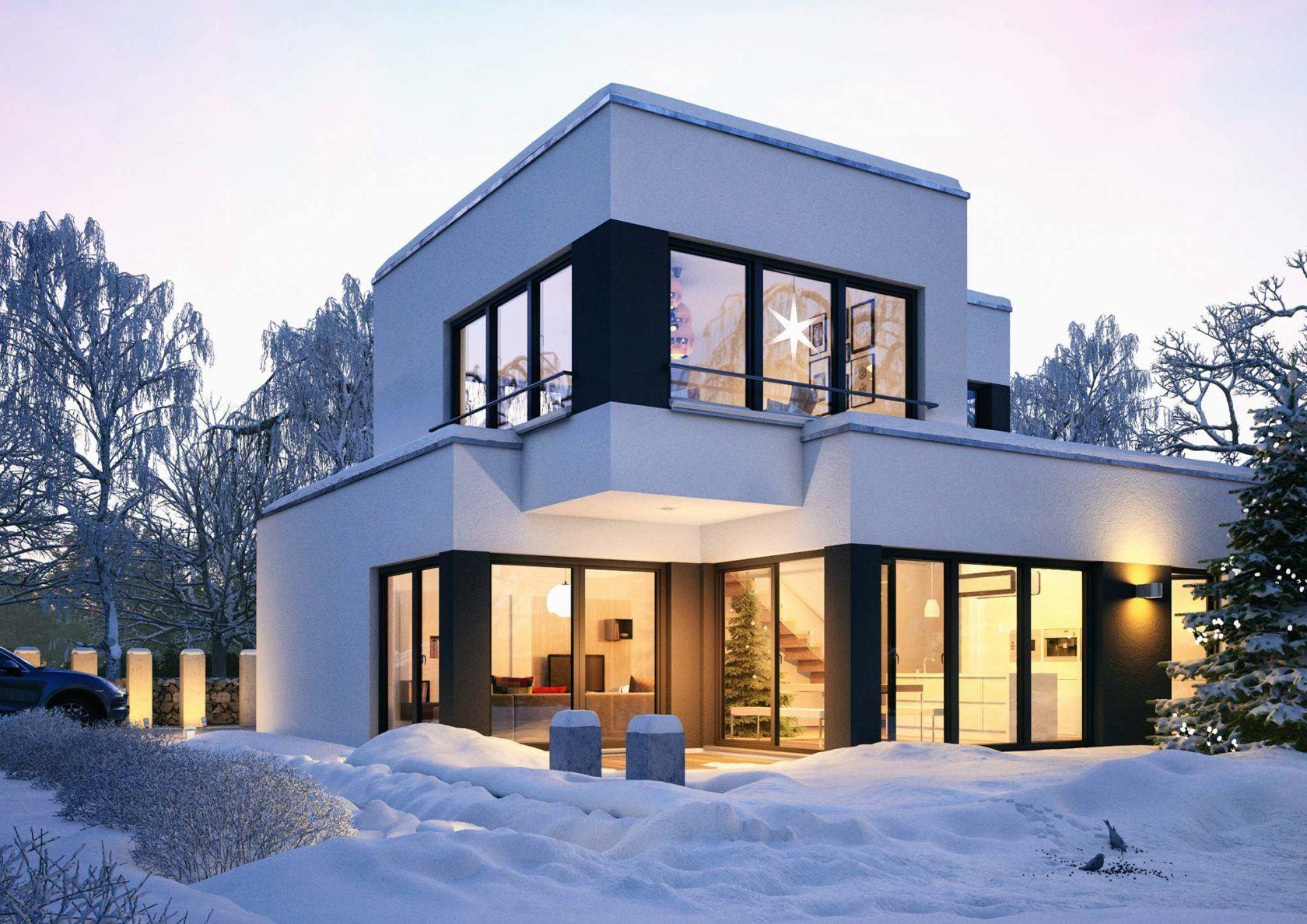 Winter-Visuals für die saisonale Vermarktung