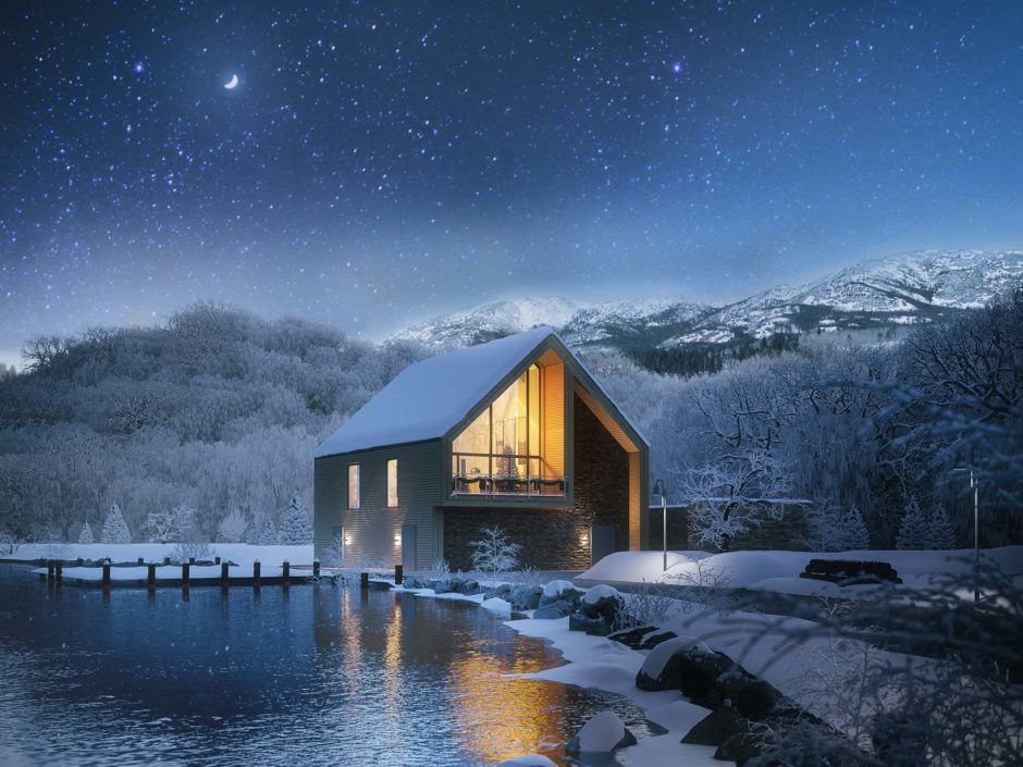 lichtecht | Ski Lodges | Modern mountain living