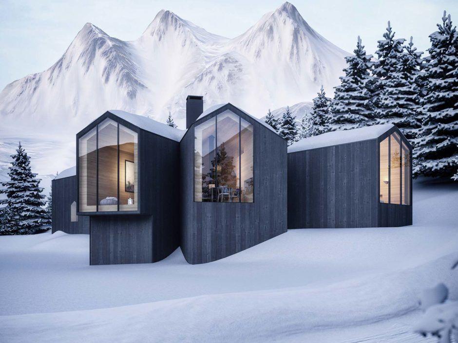 lichtecht | Ski Lodges | Schnee von morgen